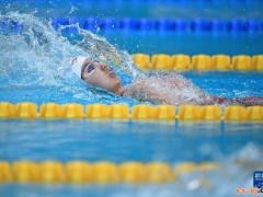 全运会-游泳女女子200米仰泳:彭旭玮夺冠